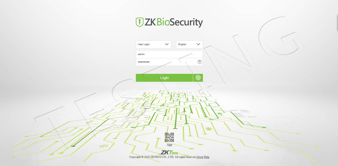 ZKBioSecurity-V5000
